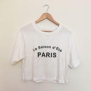 Madewell Saison d'Ete Paris top size Sm